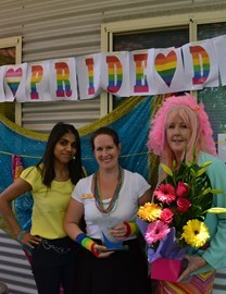 Tuohy staff celebrate Better Practice Award win and Pride Day