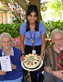 70th wedding anniversary celebrations at Tuohy