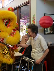 Concorde residents celebrate Chinese New Year