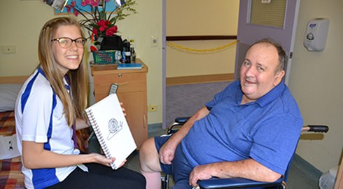 Speech pathology students train in Hall & Prior homes